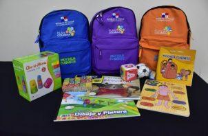 Más de 5 mil mochilas equipadas con juegos didácticos y una guía práctica para promover la estimulación temprana serán entregadas.