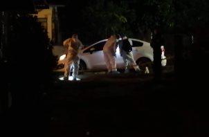 El episodio de violencia se registró sobre las 8:00 p.m. del sábado 17 de octubre en una de las vías internas del sector de Marañonal, en el distrito de La Chorrera, provincia de Panamá Oeste.
