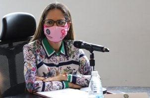 La diputada Zulay Rodríguez preside la Comisión de la Mujer, la Niñez, la Juventud y la Familia. Foto cortesía Asamblea Nacional
