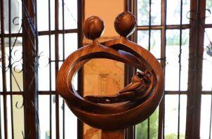 Primer premio en escultura. Foto: Cortesía