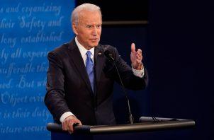 """Joe Biden, aseguró no haber recibido """"ni un centavo"""" de Gobiernos extranjeros ante las acusaciones vertidas por el presidente, Donald Trump, que denunció pagos de diversos países a través de familiares. Foto: EFE"""
