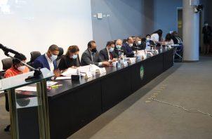 El presidente de la Comisión de Asuntos Agropecuarios, Eric Broce, indicó que este proyecto de ley es de suma importancia para Panamá. Foto/Cortesía