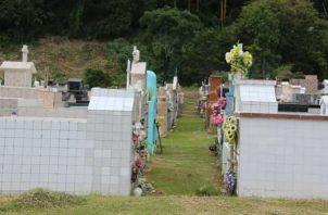 La limpieza de las tumbas y lotes le corresponde a cada familiar. Foto: Mayra Madrid