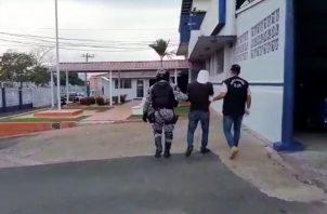 El ciudadano sospechoso fue retenido en el sector de Costa Verde. Foto Eric Montenegro
