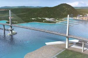 """Con el cuarto puente sobre el Canal, se tenía previsto que se pudiera minimizar los """"tranques"""" y pudiera darse un mejor flujo vehicular, dijo Herrera."""