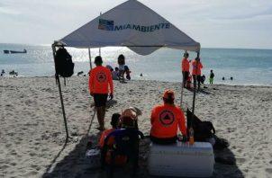 Este es el segundo fin de semana que se permite el acceso a playas y ríos en Panamá luego de la cuarentena por la pandemia de COVID-19.