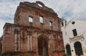 Ruinas de la iglesia y Convento de Santo Domingo.