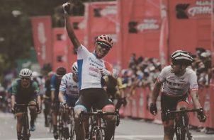 Christofer Jurado terminó en la casilla número 13 en la clasificación general de la Vuelta a Guatemala. Fepaci