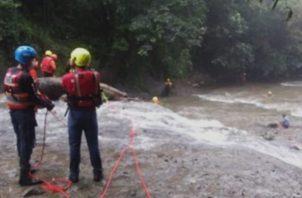 Menor muere ahogada en la aguas del Chorro de Las Mozas en el Valle de Antón. Foto:Cortesía
