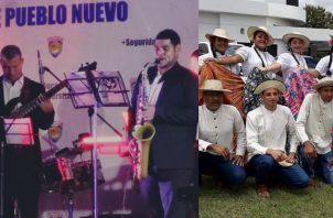 FC Grupo Musical y el Conjunto Proyecciones Huellas de mi Folklore, quien participará en el evento. Instagram