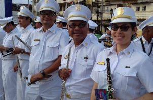 Banda Republicana de Panamá conmemoró sus 153 años de fundación. Foto: Cortesía