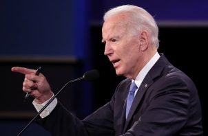 Joseph Robinette Biden Jr., un hombre con cerca de 50 años en el mundo de la política norteamericana, esta vez compite con un férreo oponente como Donald Trump, que le lleva una ligera pero no invencible ventaja, por ser el presidente de Estados Unidos. Foto: EFE