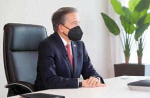 Laurentino Cortizo está en cuarentena preventiva por COVID-19.