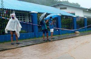 Varios sectores de la provincias de Bocas del Toro han sido afectados por el fuerte temporal.