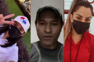 Joseline Pinto, Samy Sandoval e Ingrid De Ycaza son algunas de las caras que están apoyando a la causa por los damnificados. Foto: Instagram