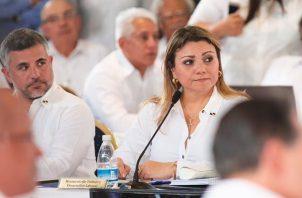 Ministra Doris Zapata dice que Cortizo ha mantenido comunicación con todos los ministros.