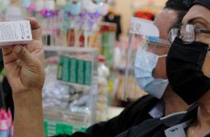 Los medicamentos fueron decomisados tras un operativo de inspección que llevó a cabo el Minsa en los comercios del Centro Comercial Albrook Mall.