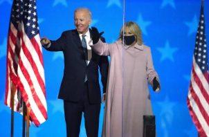 El demócrata Joe Biden es el candidato presidencial que más votos ha ganado en la historia de EE.UU., con más de 74 millones, en unas elecciones con un récord de participación. Foto : EFE