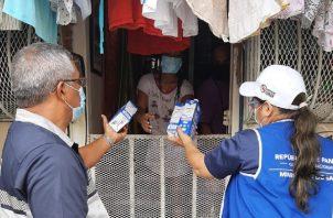 Panamá superó los mil casos nuevos en 24 horas este 6 de noviembre. Foto: Cortesía