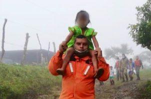 Hasta el momento hay 62 personas no localizadas, 23 deslizamientos, 833 evacuados y rescatados y 168 incomunicados.