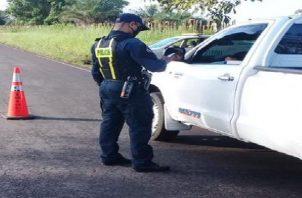 Los operativos por parte de la Dirección Nacional de Operaciones del Tránsito continuarán.