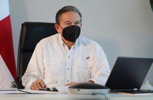 Laurentino Cortizo lamentó la situación ocasionada por las inundaciones.