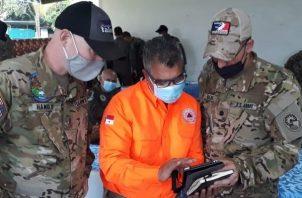 Unos 24 rescatistas continúan con la búsqueda y rescate en el distrito de Besikó, en la comarca Ngäbe Buglé.