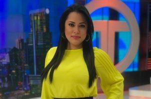 Delia Muñoz, periodista de Telemetro. Foto: Instagram / @deliacmf