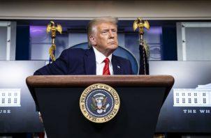 NBC, ABC y CNN pronosticaron que Trump se impondría en el territorio. Foto: EFE.