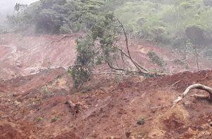 Laas autoridades comarcales y el Sinaproc investigan el incidente.