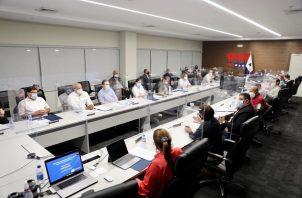 El Consejo de Gabinete se reunió hoy en sesión extraordinaria.