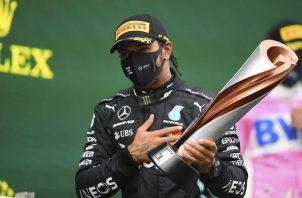 Lewis Hamilton tiene 94 victorias en la Fórmula Uno. EFE