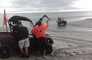 El Sinaproc suspendió la búsqueda debido al mal tiempo en la zona.
