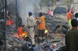 Mogadiscio sufre frecuentes ataques de Al Shabab, organización afiliada desde 2012 a la red terrorista Al Qaeda. Foto: EFE/Archivo.