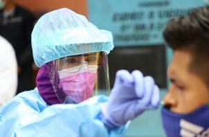Los equipos de trazabilidad del Minsa trabajan en la detección de contagiados. Foto: Eric A. Montenegro