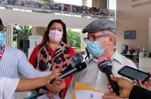 Fernando Cebamanos, presidente de la agrupación política, presentó más de 7,000 firmas de apoyo, de las que se aceptaron casi 6 mil. Foto de cortesía
