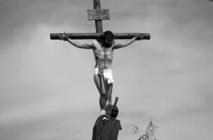"""Jesús también tuvo sed de agua como todo ser humano, y en la cruz fue una de sus frases recogidas en el Evangelio: """"tengo sed"""", gritó con voz temblorosa, ya sintiendo los estragos de la agonía. Foto: Archivo."""
