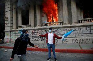 Cronología de las protestas en Guatemala