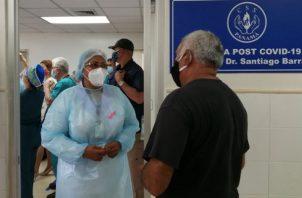 El hospital de campaña estaría cerca a la policlínica Santiago Barraza de La Chorrera. Foto: Eric A. Montenegro.