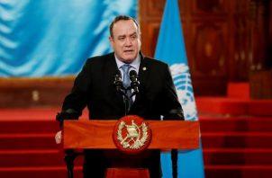 Presidente de Guatemala, Alejandro Giammattei.