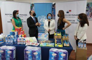 Los insumos entregados serán distribuidos entre las familias que se han visto mayormente afectadas en las provincias de Chiriquí, Bocas del Toro y Darién, además de la Comarca Ngäbe Buglé.