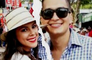 La presentadora Doralis Mela acusó a su novio de infiel.