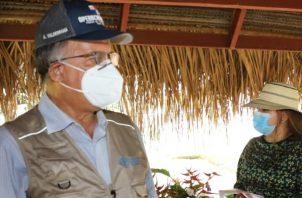 El ministro del Mida Augusto Valderrama dijo que a estos sectores se les estará dando seguimiento.