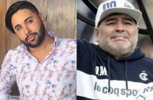 'Yedgar Carolina' comentó sobre Diego Maradona. Foto: Redes Sociales