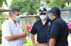 El operativo por el asesinato de este agente estuvo liderado por el ministro Juan Manuel Pino y el director de la PN, Jorge Miranda. Cortesía