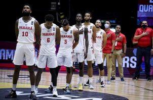Jugadores del seleccionado panameño. Foto:Fepafut