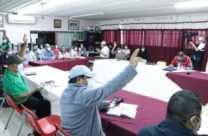 La sexta reunión se desarrolló en el IPT Leonila Pinzón de Grimaldo en Penonomé.