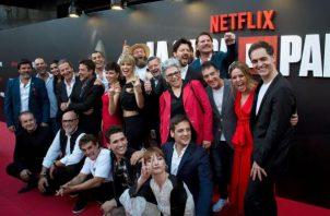 Elenco de la popular serie de Netflix