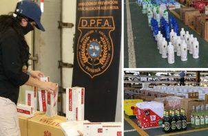 El operativo 'Navidad sin Contrabando' se puso en marcha en el mes de octubre. Foto:Cortesía