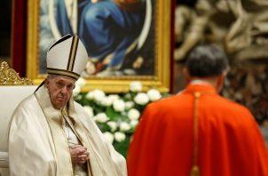 El papa Francisco recordó a las cuatro misioneras estadounidenses asesinadas en El Salvador. Foto: EFE